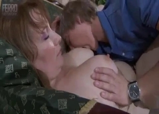 Real son bangs his lustful mother in missionary pose