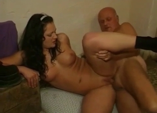 Good and perverted incest fuck with sexy granddaughter