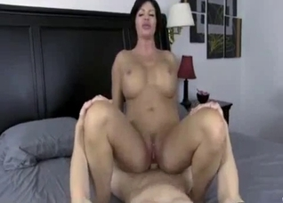 Awesome incest fuck with a big-breasted stepmom