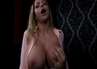 Big-boobed stepmother rides on her lucky stepson