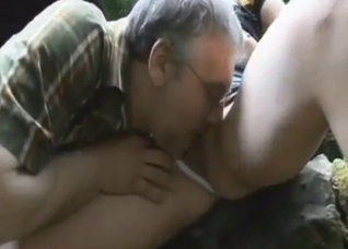 That's nice when your stepdad licks your cunt